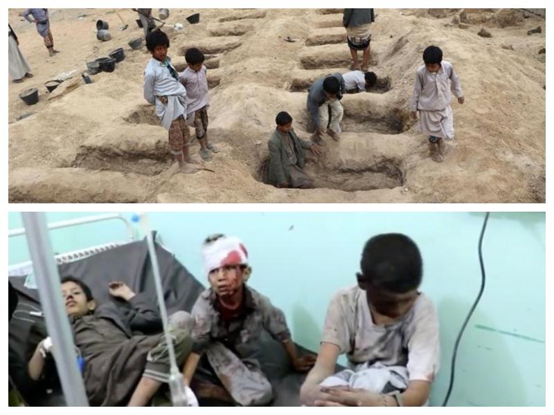 Bus bombardiranje Jemen