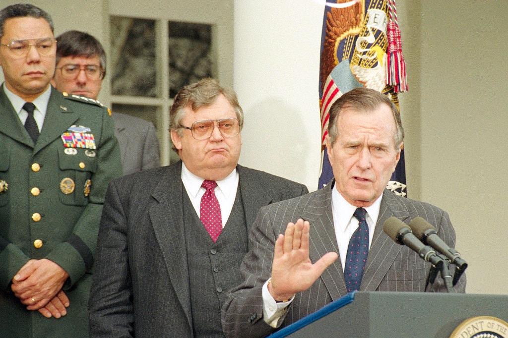 Eagleburger in George W. Bush