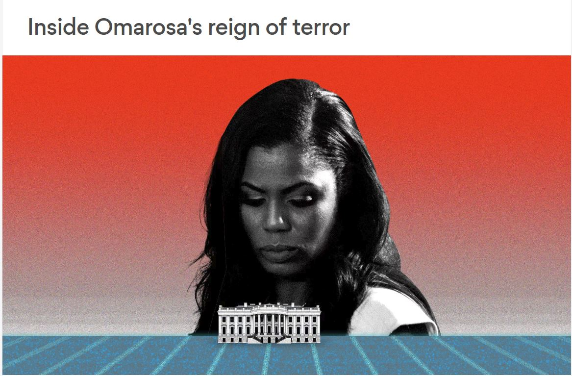 Omarosa - kot jo vidi Busines Insider