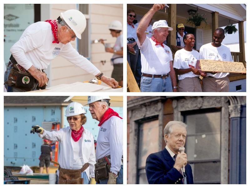 Carter Jimmy na gradbiščih
