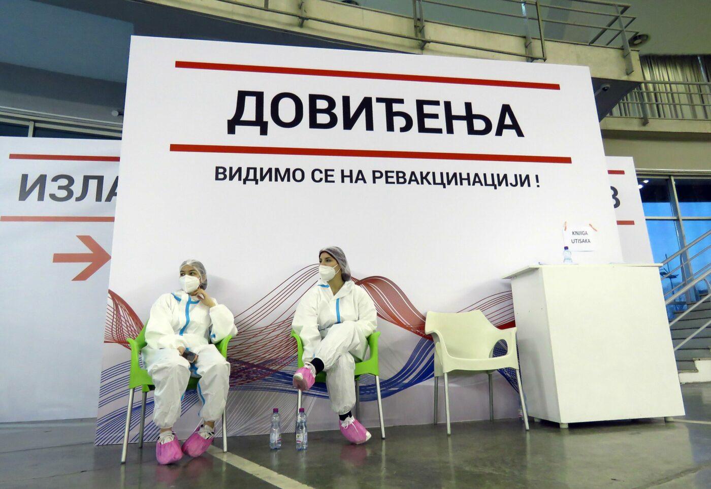 Cepljenje v Srbiji  Vir:Twitter