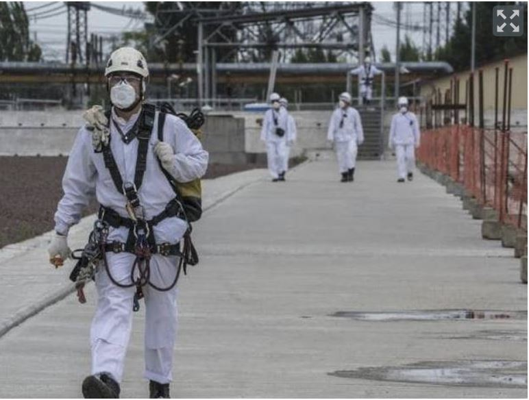 Černobil, delavci - danes