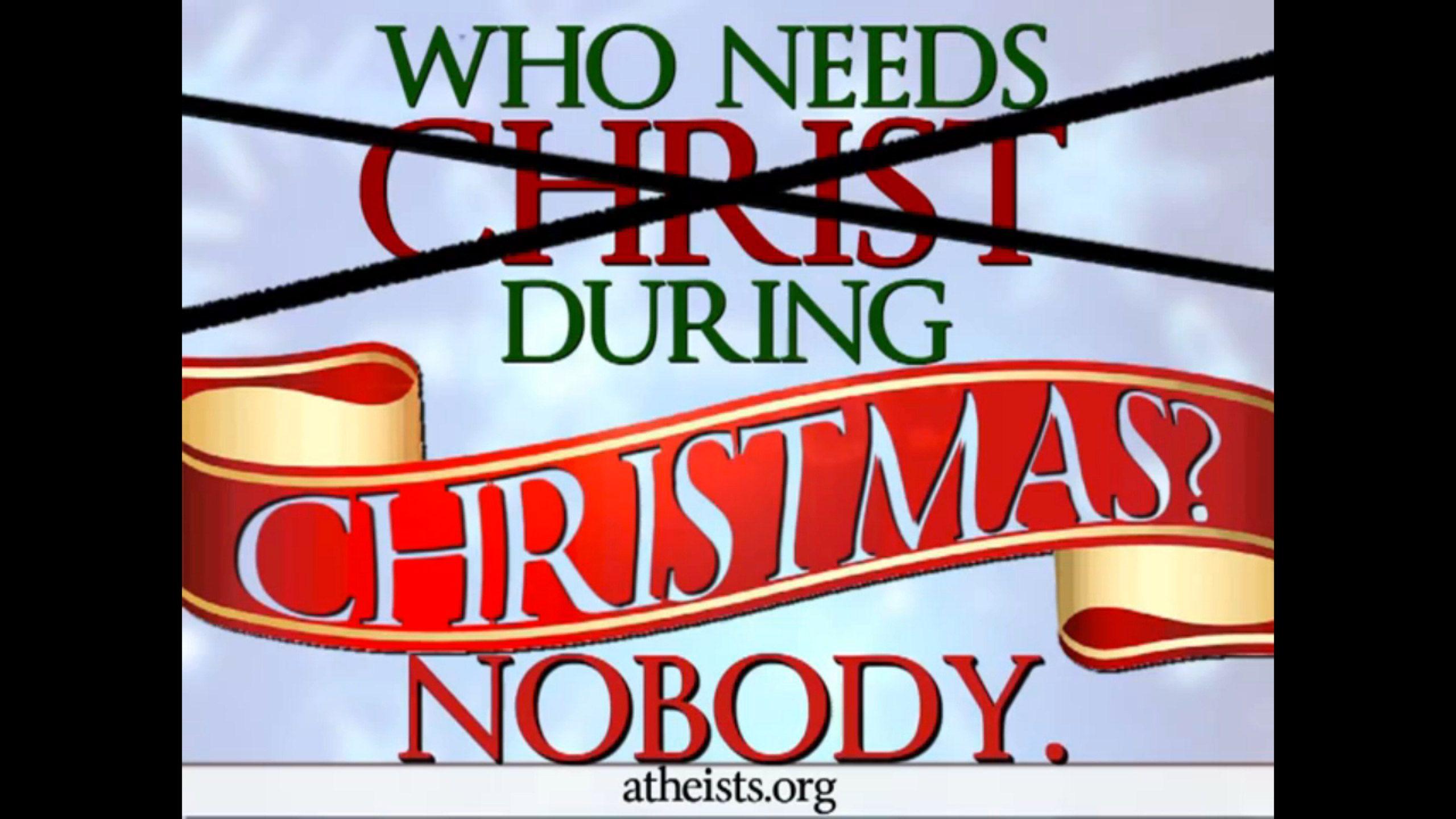 Kdo potrebuje Božič? Vir:atheists.org