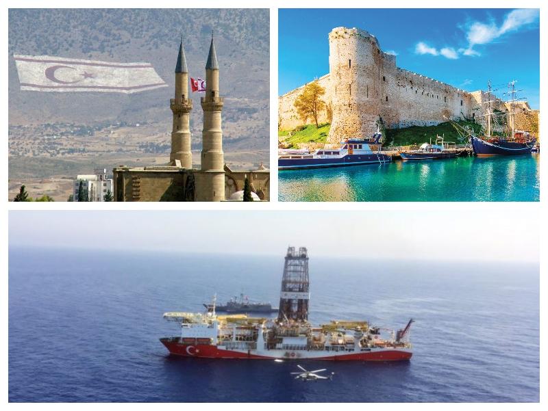 CIper, severni in južni ter sporno vrtanje Turčije