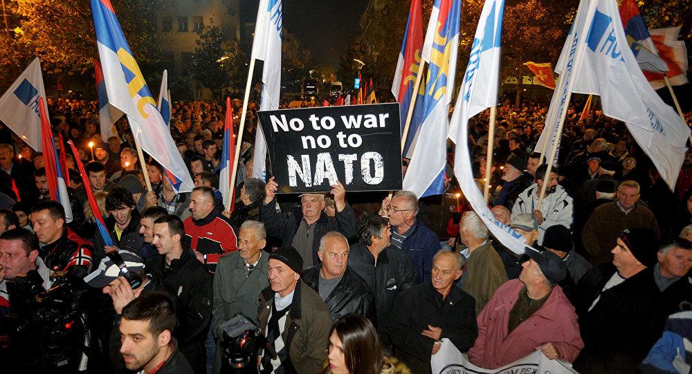 Črna Gora - demonstracije proti NATO