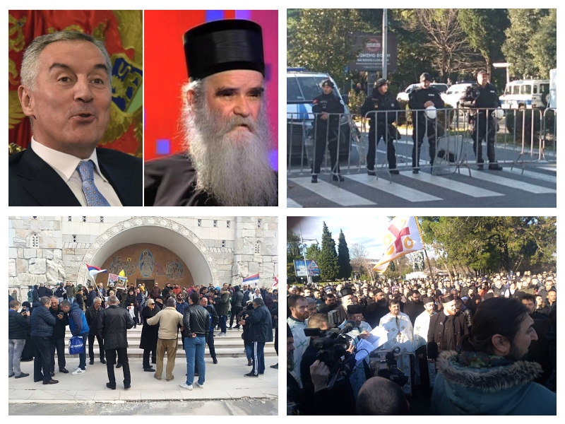 Črna gora - verski zakon