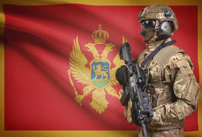 Črnogorski vojak