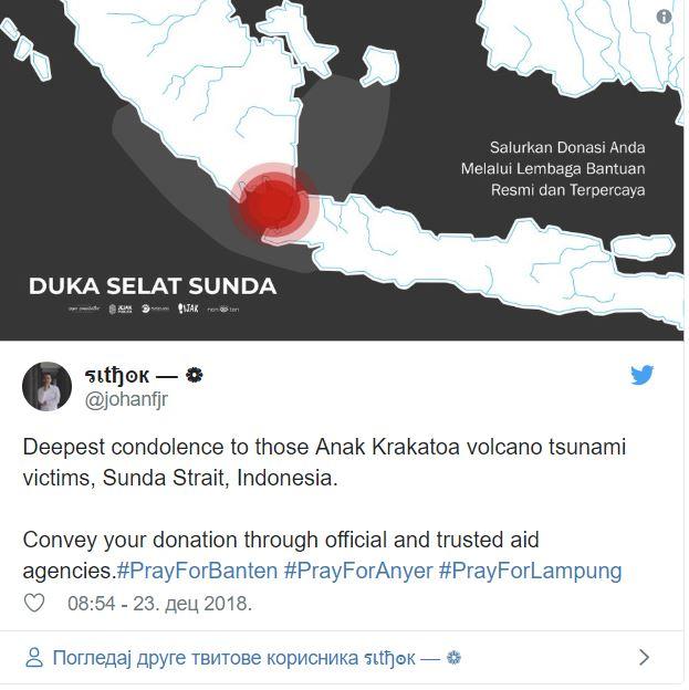 Cunami - Indonezija, 2018