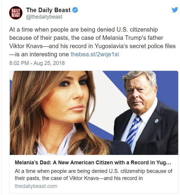 Twitter - Daily Beast