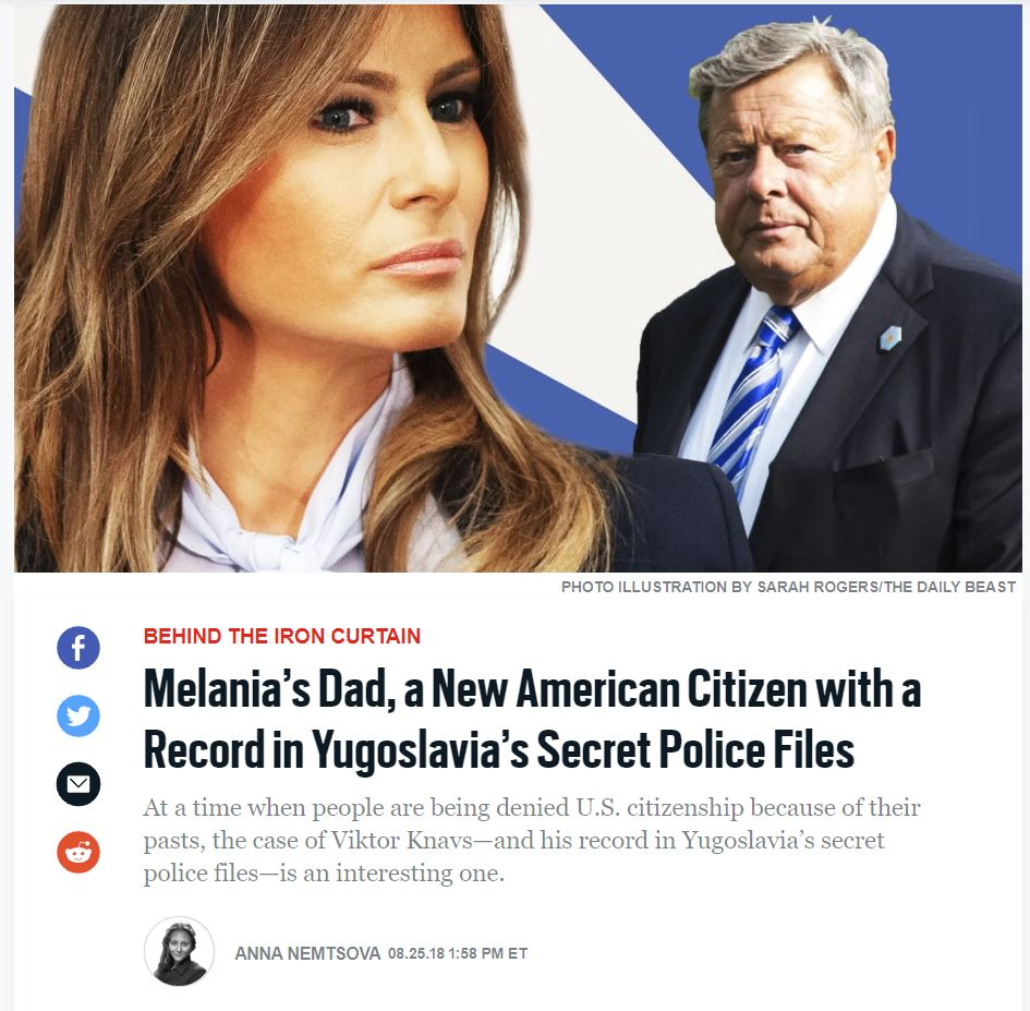 Daily Beast - Viktor Knavs