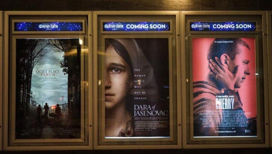 Napovedi filma Dara iz Jasenovca v kinodvoranah v ZDA