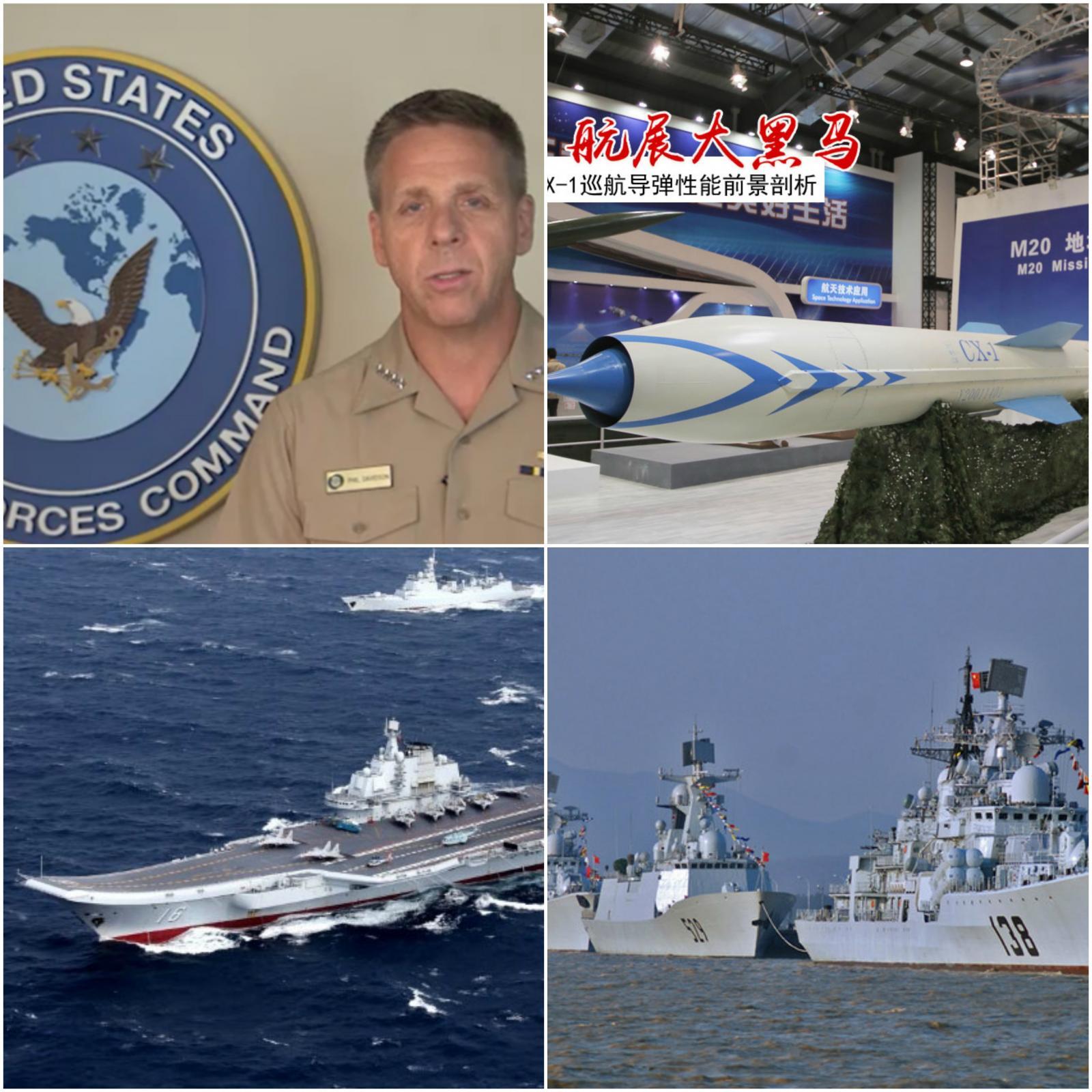 Kitajsko južno morje in admiral Davidson