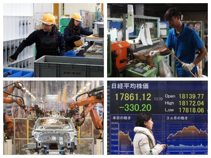 Japonska - tuji delavci