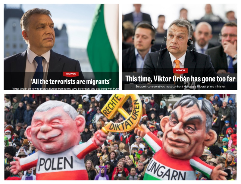 Viktor Orban in kritiki
