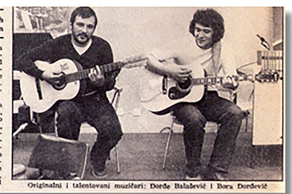 Đorđe Balašević in Bora Đorđević, skupina Rani mraz