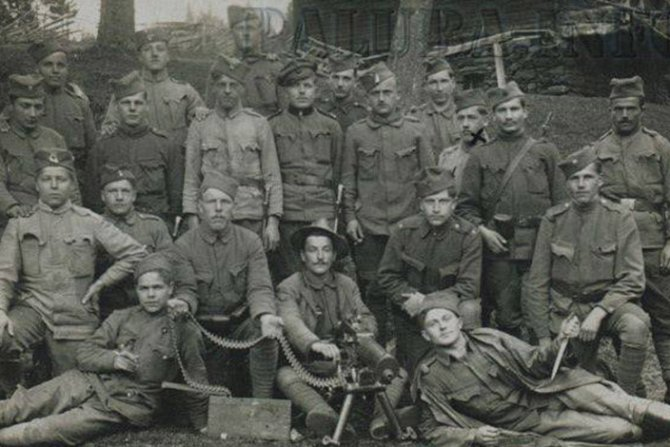 Dobrovoljci 1918-19