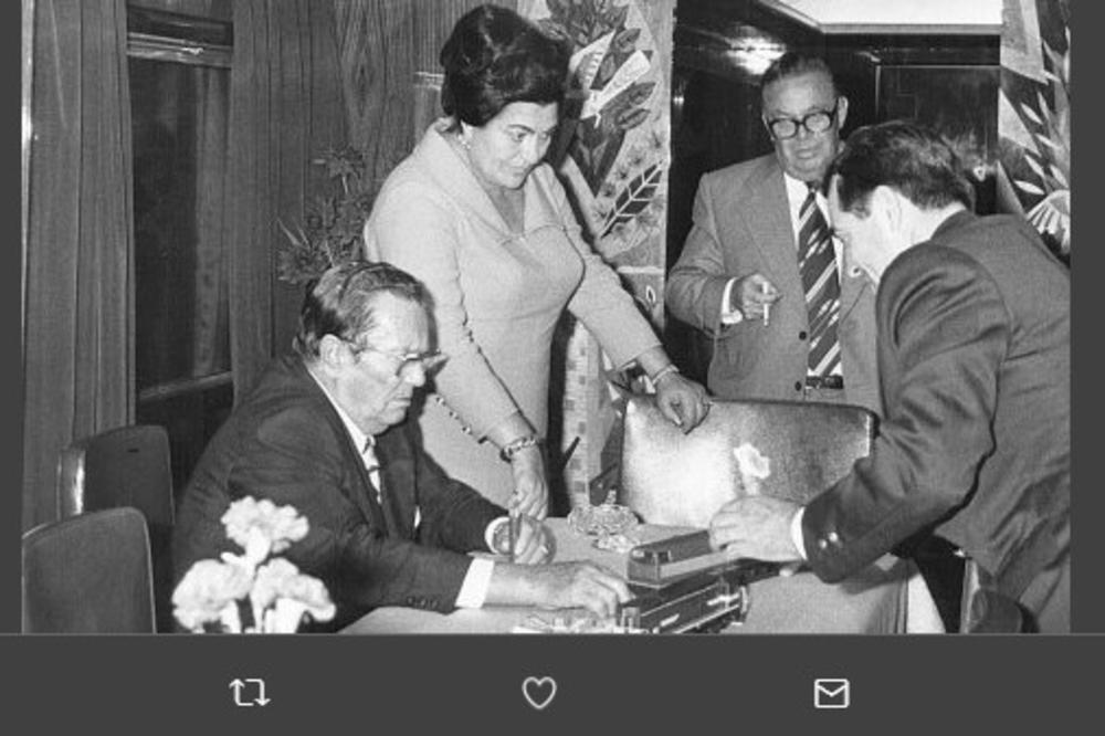 Tito, Jovanka in Stane