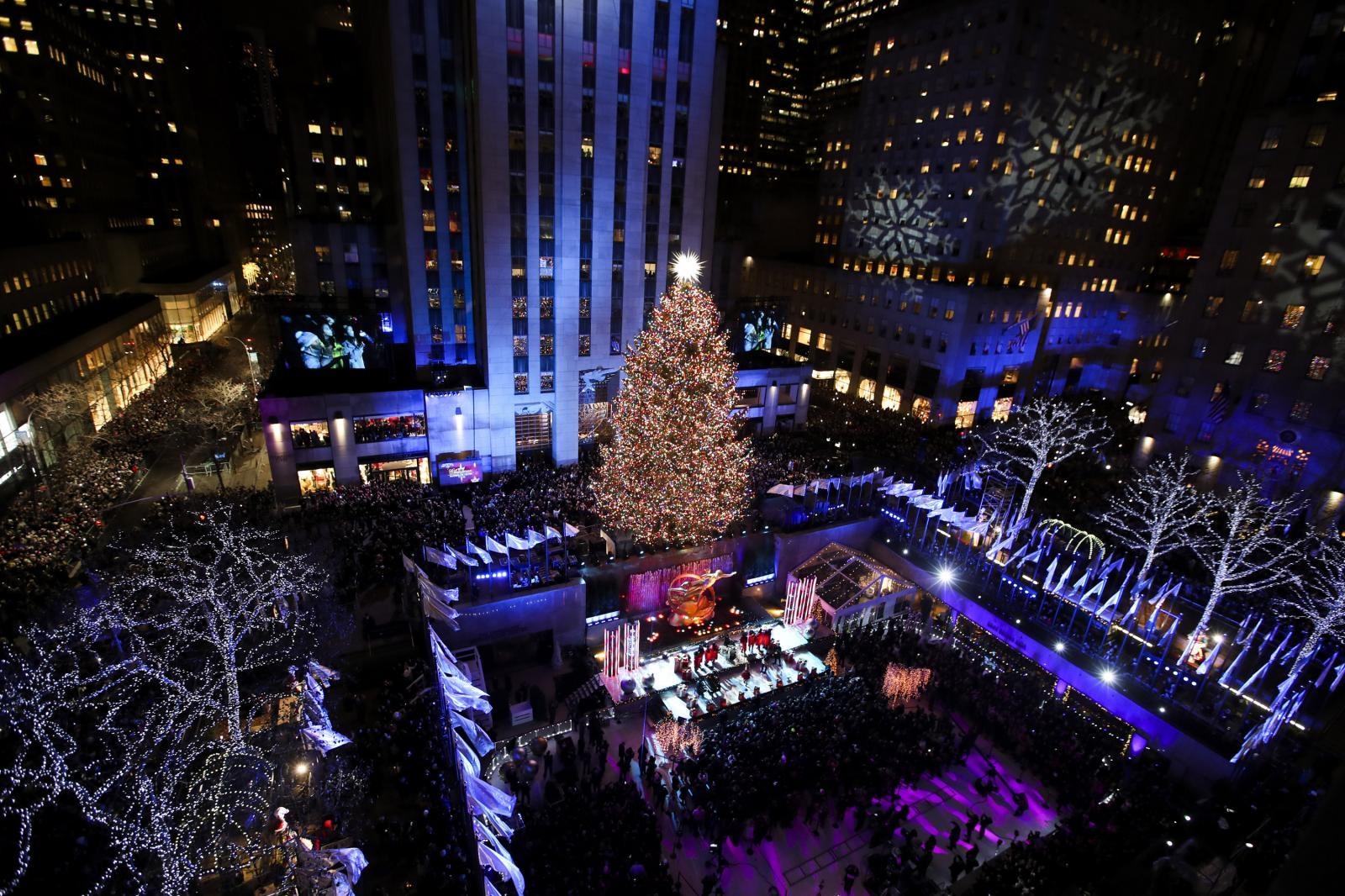 Božično drevo, New York Vir:Pixsell
