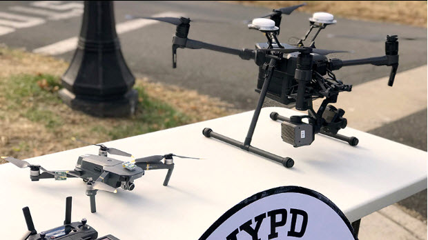Dron, NYPD