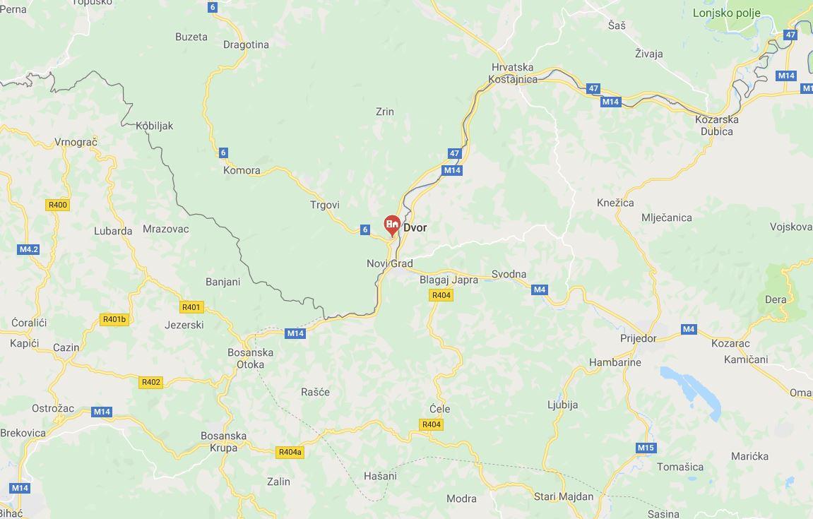 Odlagališče jedrskih odpadkov pri Dvoru - Hrvaška