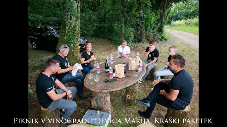 Vinakras in ministrica Pivec