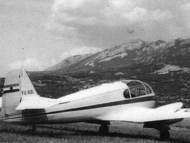 Edvard Lorencon, letalo AERO 145