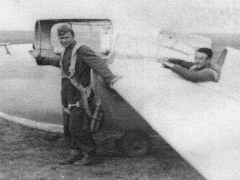 Edvard Lorencon - letalo Žerjav, Vršac 1947