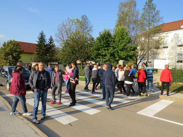 Protest v Ptuju zaradi vinjet Vir:Ptujinfo.com