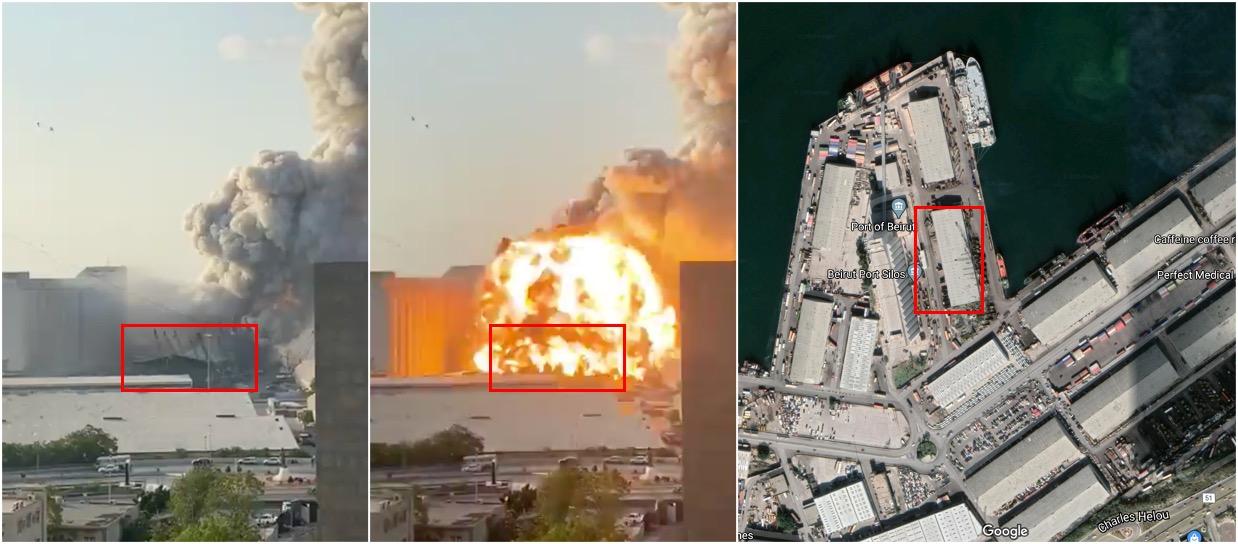 Epicenter eksplozije