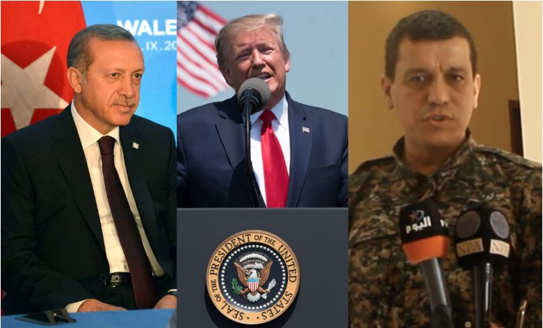 Erdogan, Trump in kurdski general