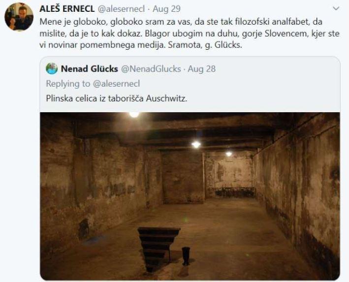 Glucks in polemika okoli holokavsta