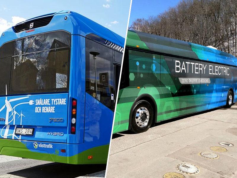 Estonija, električni avtobus