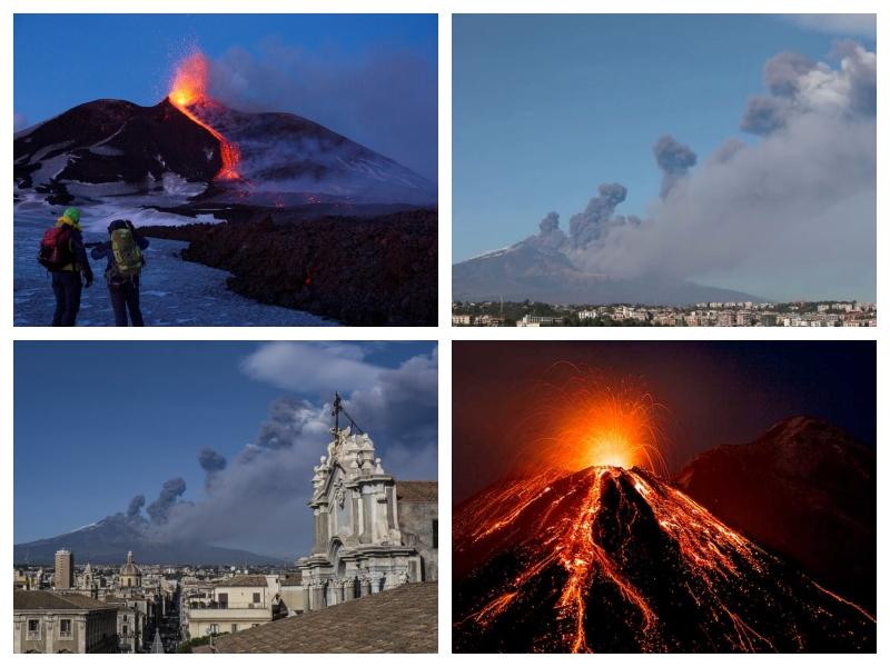 Etna izbruh