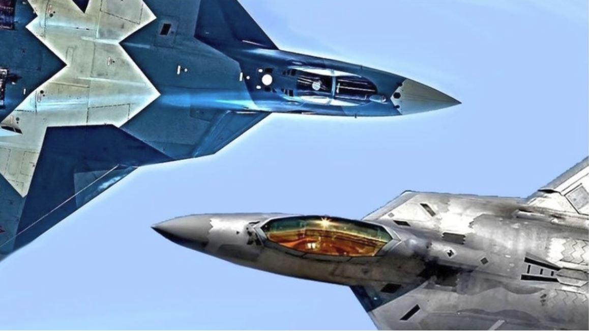 F-22 in Su-35 Vir: RTBH