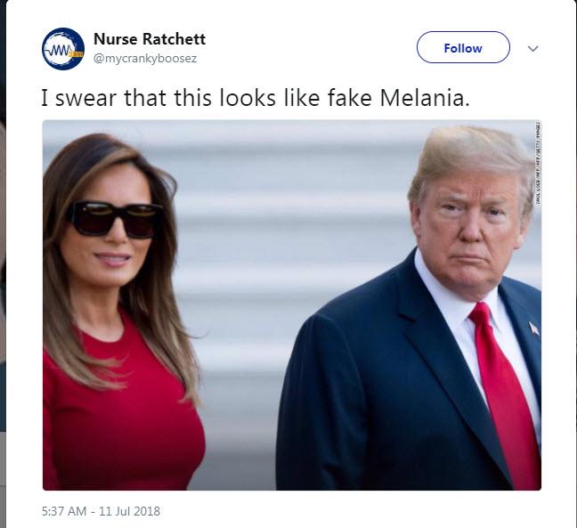 Melania dvojnica
