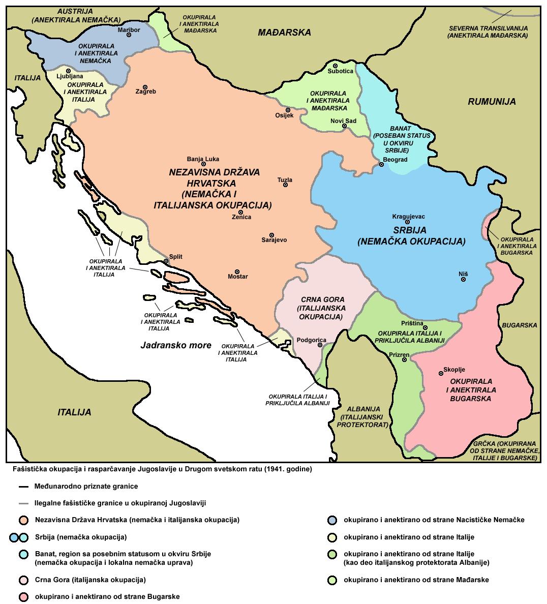 Okupacija Jugoslavije