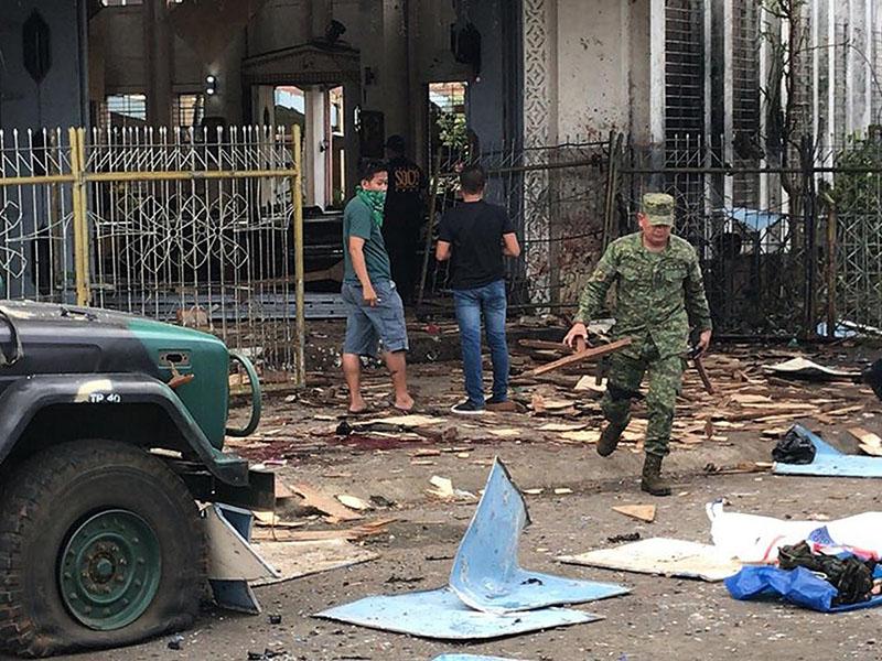 Filipini napad