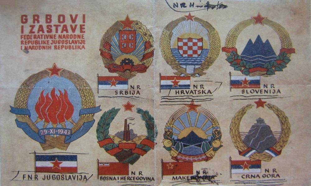 Zastave in grbi FNRJ