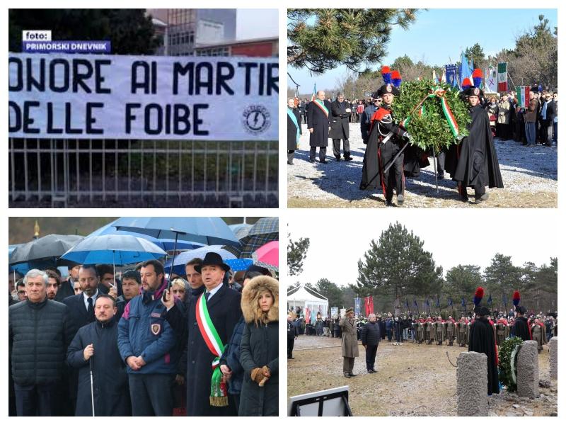 Italija - slovesnost v Bazovici