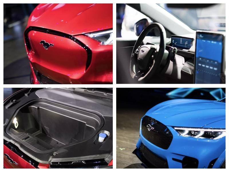 Ford Mach E - podrobnosti