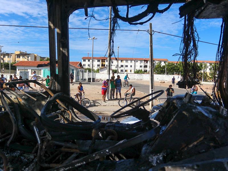 Fortaleza izgredi, Brazilija