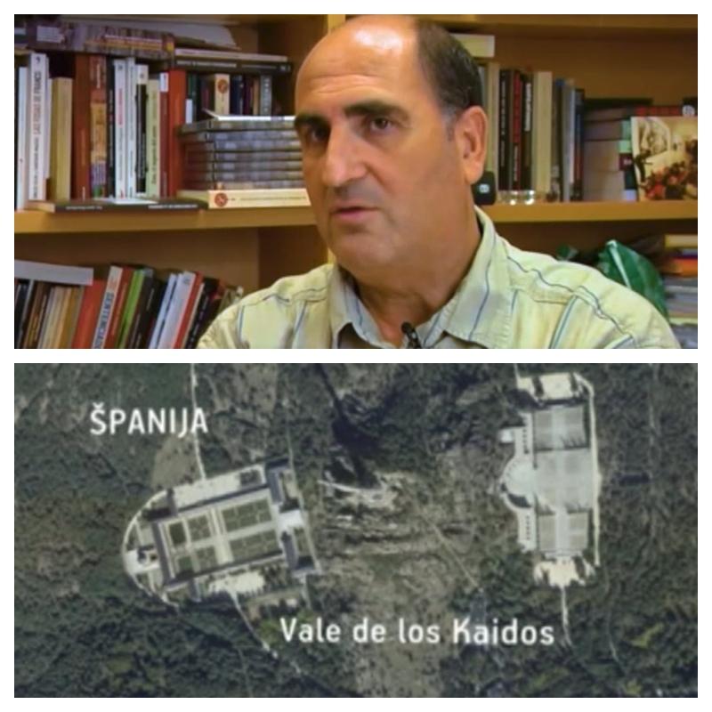 Fernando Martinez in položaj mavzoleja
