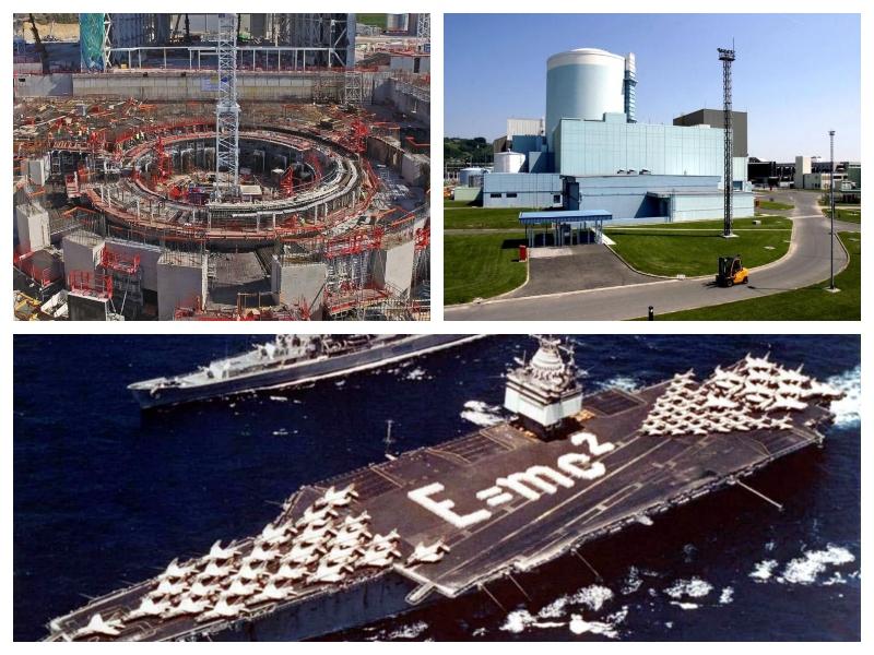 Jedrski pogon in fuzijski reaktor
