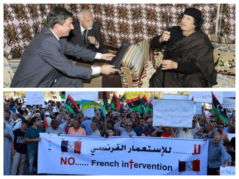 Pahor - protesti proti intervenciji