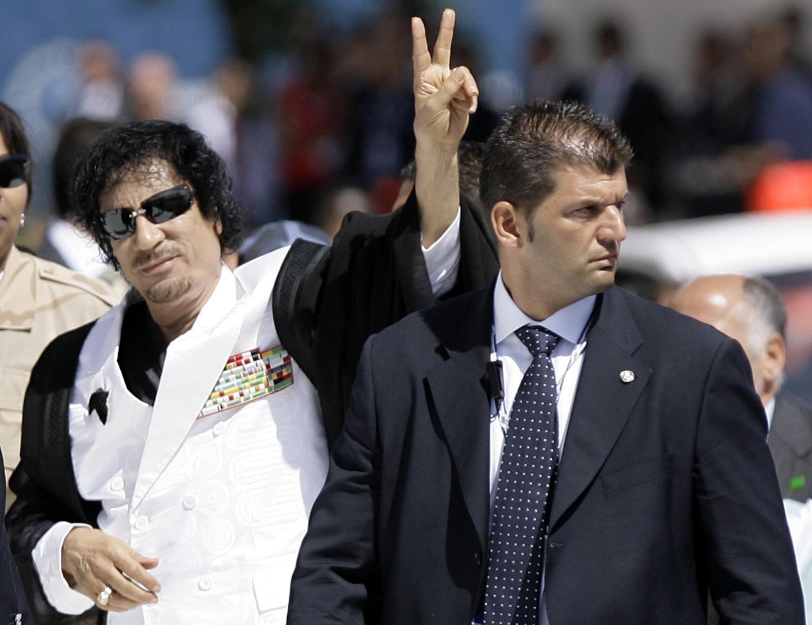 Moamer Gadafi Vir:Pixell