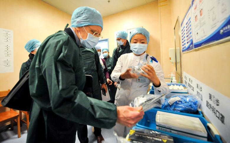 Zaščitna oprema, ki varuje pred okužbo s koronavirusom