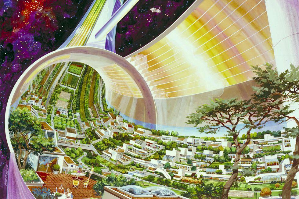 Vesoljsko mesto