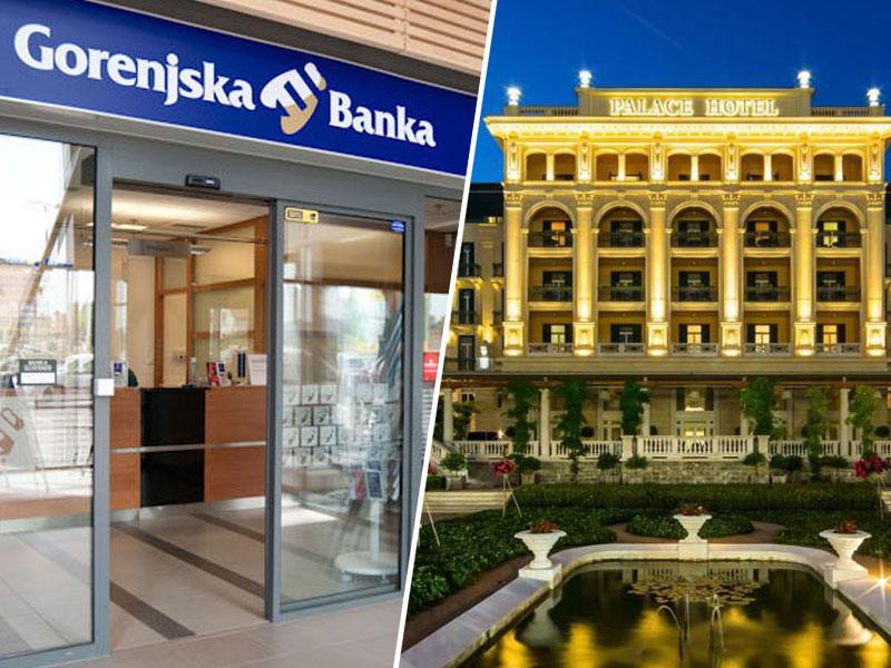 Gorenjska banka, hotel Kempinski