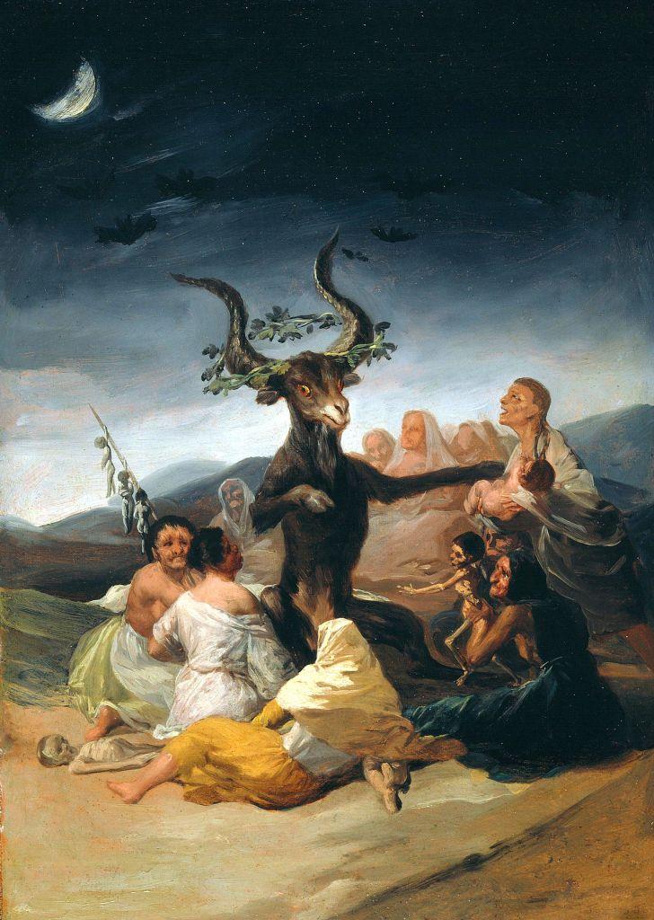 Čarovnice, kot jih je videl Goya