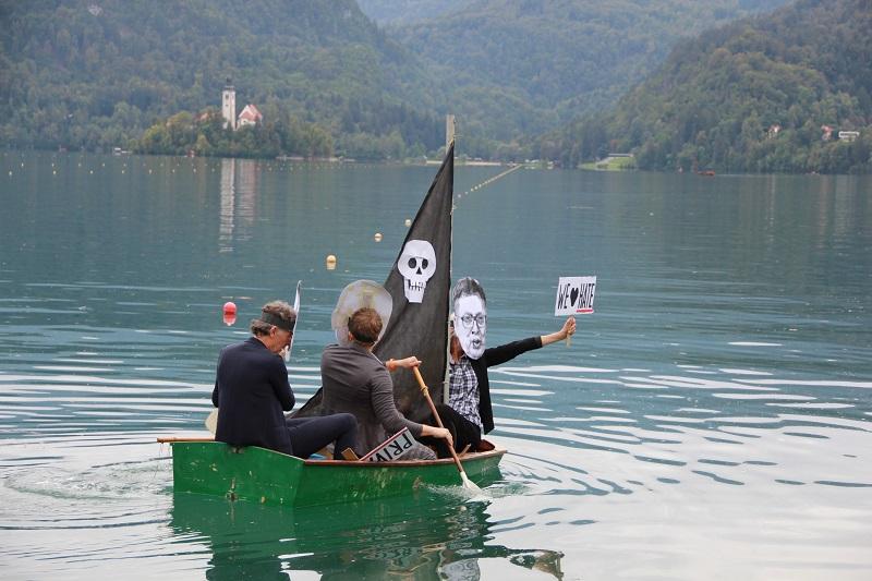 Orban, Vučić in Janša na isti ladjici